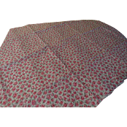 Pink Roses Abloom Fabric - L9