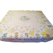 How Does Your Garden grow Tablecloth - b205