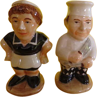 Cook and Mail Salt and Pepper Shakers - b220