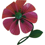 Pink Petals Enamel Pin - Free shipping