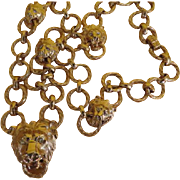 Pride of Lions Necklace - free shipping