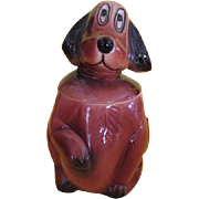 McCoy Mac the Sad Eye Puppy Cookie Jar
