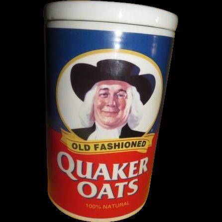 Quaker Oats 120th Anniversary Cookie Jar