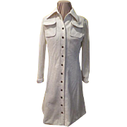 Patch Pocket Oatmeal dress