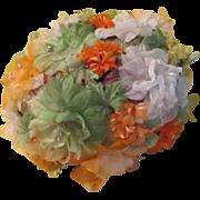 Sherbert Colors Springtime Flower Hat