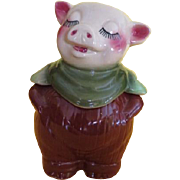 Smiley Shawnee Piggy Bank/cookie jar