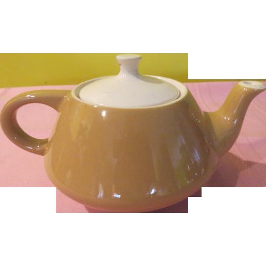 Royal China Mid-century Star-Glo Tea Pot - b219