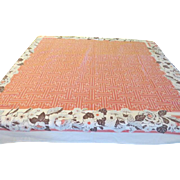 Border of Flowers Tablecloth - b221