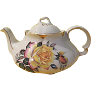 Woods and Sons Yellow Roses Ellgreave Tea Pot - b213
