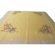 Sheerly Fruitful Tablecloth - b216