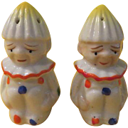Reamer Head Clowns Salt and Pepper Shakers - b214