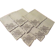 Drawn Thread  Maderia Napkins - b217