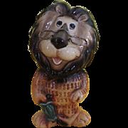 Hubert the Harris lion Lefton Savings Bank - b216