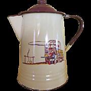 Chuck Wagon Monterrey Western Ware Coffee Pot - g