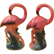Long Neck flamingo Salt and Pepper Shakers - B213