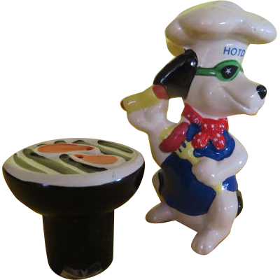 Hot Dog and Grill Salt and Pepper Shakers - b220