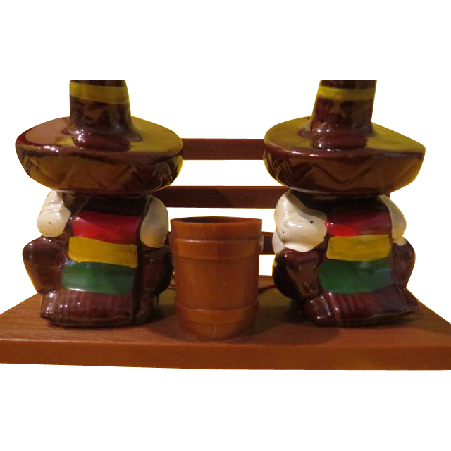 Siesta Time Salt and Pepper Shakers - B213