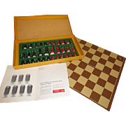 Shell Chemical Co, Chess Set - B