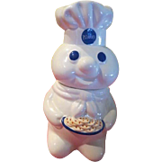 Pillsbury Doughboy with Cookies Cookie Jar - g