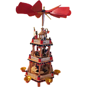 3 Tiers for the Red White and Blue Uncle Sam Pyramid Carousel Windmill