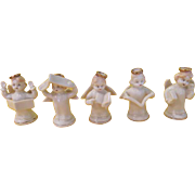 Angels with Gold Halos Shakers - b215