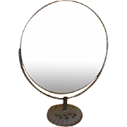 Porcelain Base x-large Swivel Magnifying Make-up Mirror