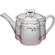 Z. S. & Co. Bohemian Tiny Floral Rose Tea Pot - b222