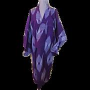 Lustrous Purple Kimono