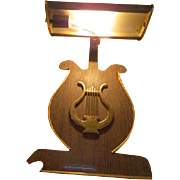 Harp Shaped Music Stand Light - B