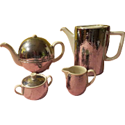 Bauscher Widen Coffee and Tea Pot with Creamer and Sugar - b219