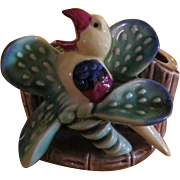 Bird on Cactus Shafford Planter - b220