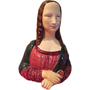 Serene Mona Lisa Vandor Cookie Jar