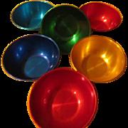 Colorful Aluminum Bowls - b225