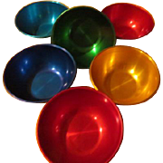 Colorful Aluminum Bowls - b225