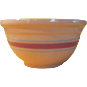 Watt Kitchen Queen Pink/turquoise Band Bowl  #12 - g
