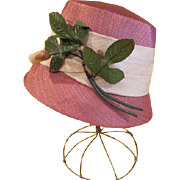 Flower on the Front Bucket Hat - hb