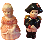 Great Lovers Napoleon and Josephine Salt and Pepper Shakers - JSP