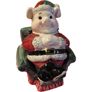 Santa pig in Easy Chair - JSP