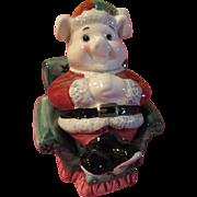 Santa pig in Easy Chair - JSP