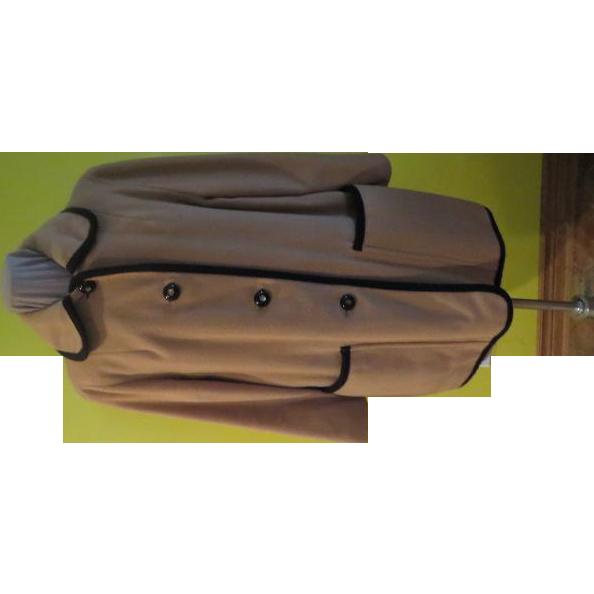 Black Trimmed Penguin Coat