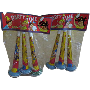 Toot Your Own Horn Party Time Horn Party Favors in Package - b238