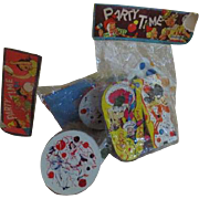 Life of the Party Party Time Noisemakers in Package - b238