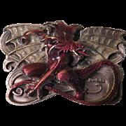 Fantasy Art Boris Vallejo The Dragon Siskiyou Belt Buckle - Free shipping