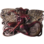 Fantasy Art Boris Vallejo The Dragon Siskiyou Belt Buckle - Free shipping