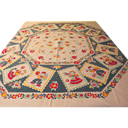 Dutch Couples Tablecloth - b229