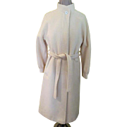 Frostmann Belted Winter White Coat