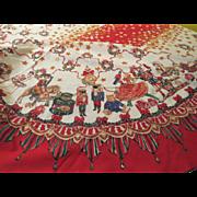 Nutcracker Christmas Tablecloth - b247