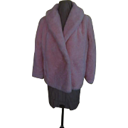 Girl Power Powder Puff Pink Faux Fun Fur Jacket