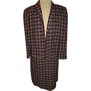 Tweedy Pie Black and Pink Plaid Suit