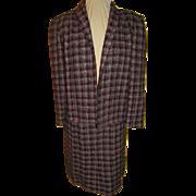 Tweedy Pie Black and Pink Plaid Suit